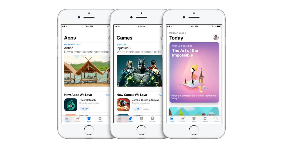 iOSアプリは存在しない