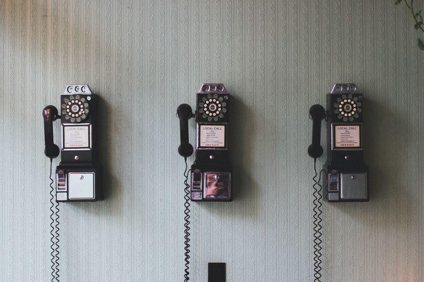 電話による問い合わせ